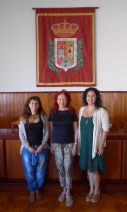 Rebeca Medina - Trabajadora social Christina Rodríguez Pérez - SOS La Palma Tatiana Rodríguez - Concejala del Ayuntamiento de Tazacorte