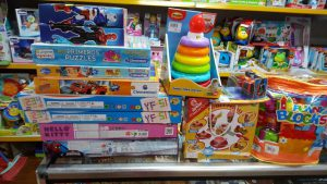 Spielzeugspende Januar 2017