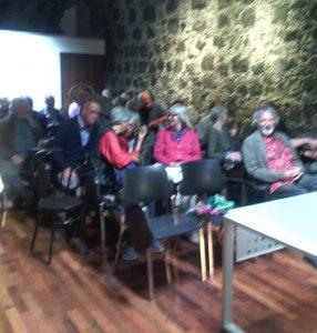 Zuhörer bei der Lesung im Mrz2017